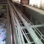 DLM Cryo chemins de cable avant nettoyage