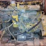 Avant décapage DLM Cryo moteur matériel BTP